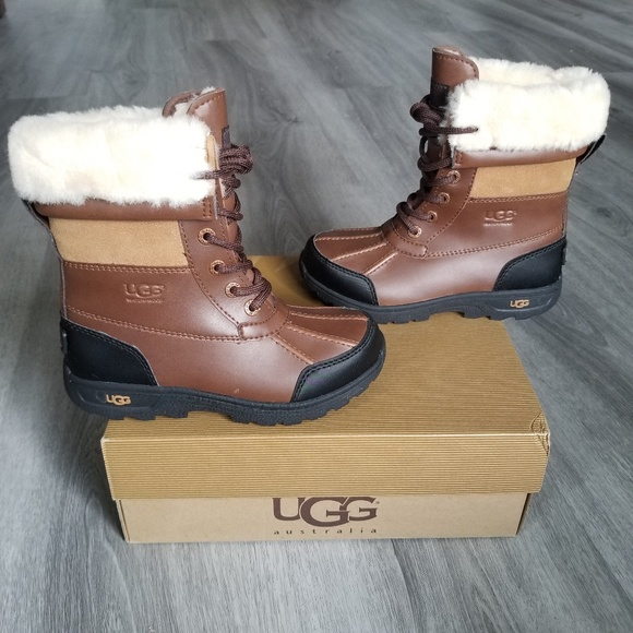 ba5c078751f UGG Kids Butte II Waterproof Boots. NWT